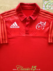 2015/16 Munster Rugby Polo Shirt (M)