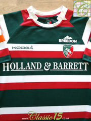 2016/17 Leicester Tigers Home Pro-Fit Rugby Shirt (M)