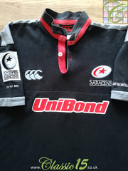 2001/02 Saracens '125 Years' Limited Edition Rugby Shirt (L)