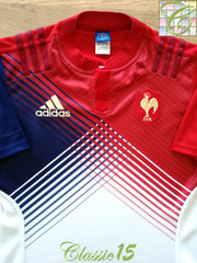 2015/16 France Away Rugby Sevens Shirt (M)