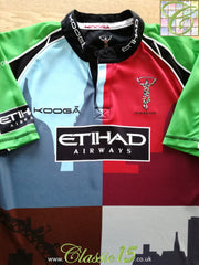2010/11 Harlequins Home Rugby Shirt (L)