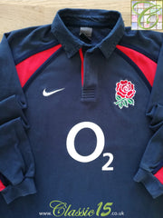 2002/03 England Away Rugby Shirt. (L)