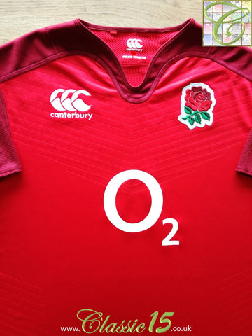 2015/16 England Away Vapodri Rugby Shirt (3XL)