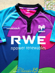 2010/11 Ospreys Rugby Training Shirt (XL)