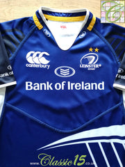 2011/12 Leinster Home Pro-Fit Rugby Shirt (L)