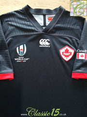 2019 Canada Away World Cup Rugby Shirt (M)