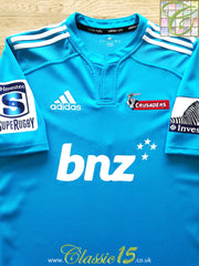 2013 Crusaders Prototype Super Rugby Shirt (L)