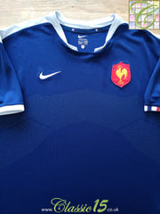 2009/10 France Home Rugby Shirt (XL)