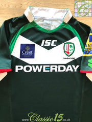 2013/14 London Irish Home Premiership Rugby Shirt (M)