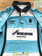 2010/11 Worcester Warriors Away Rugby Shirt (M)