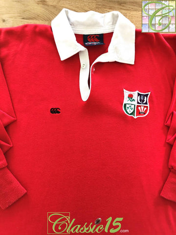 1989 British Lions Home Rugby Shirt (L)