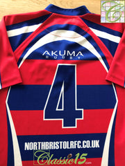 2014/15 North Bristol Home Rugby Shirt #4 (L)