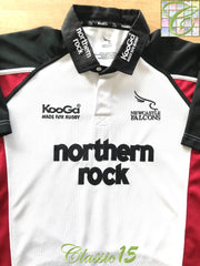 2005/06 Newcastle Falcons Away Rugby Shirt (L)