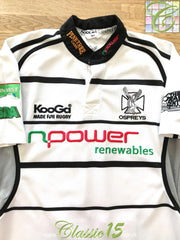 2006/07 Ospreys Away Rugby Shirt (L)