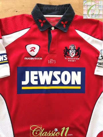 2007/08 Gloucester Home Rugby Shirt (S)