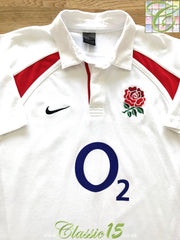 2002/03 England Home Rugby Shirt (XL)