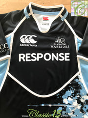 2011/12 Glasgow Warriors Home Rugby Shirt (S)