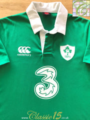 2014/15 Ireland Home Rugby Shirt (L)
