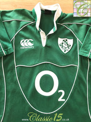 2007/08 Ireland Home Rugby Shirt (S)