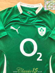 2009/10 Ireland Home Pro-Fit Rugby Shirt (M)