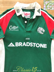 2003/04 Leicester Tigers Home Rugby Shirt (M)