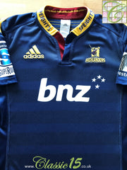 2014 Highlanders Home Super Rugby Shirt (M)