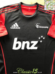 2018 Crusaders Staff Rugby Training Shirt (M)