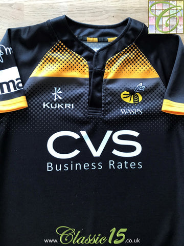 2013/14 London Wasps Home Rugby Shirt (S)