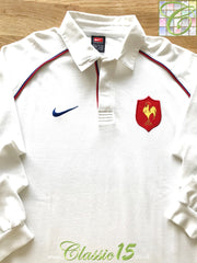 2001/02 France Away Rugby Shirt. (L)