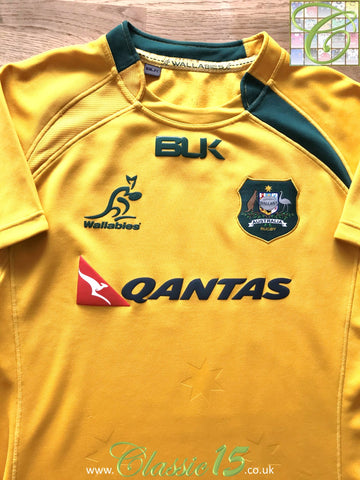 2013 Australia Home Pro-Fit Rugby Shirt (L)