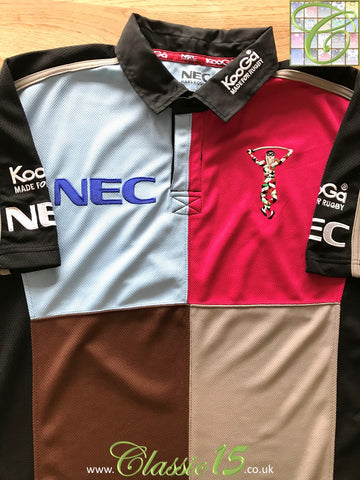 2005/06 Harlequins Home Rugby Shirt (S)