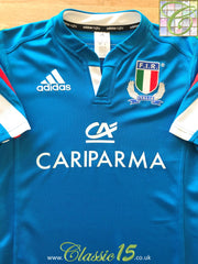 2013/14 Italy Home Rugby Shirt (S)