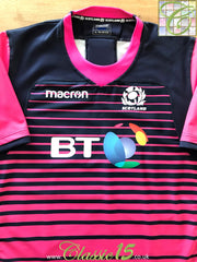 2018/19 Scotland Player Issue Rugby Training Shirt (3XL)