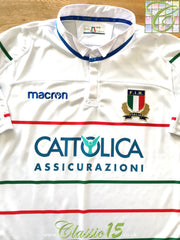 2018/19 Italy Away Rugby Shirt (3XL)