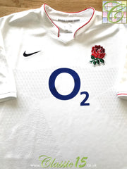 2009/10 England Home Pro-Fit Rugby Shirt (L)