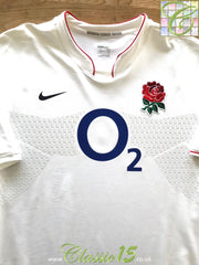 2009/10 England Home Player Specification Rugby Shirt (L)