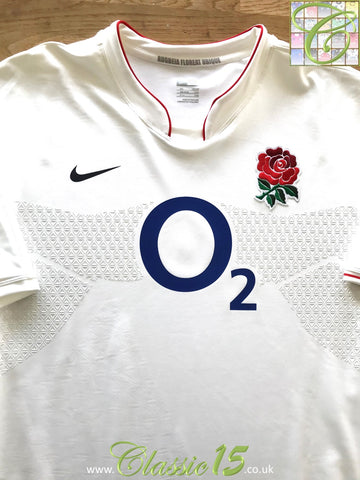 2009/10 England Home Player Specification Rugby Shirt (M)