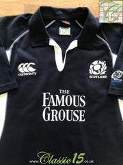 2005/06 Scotland Home Rugby Shirt (XL)