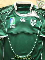 2007 Ireland Home World Cup Pro-Fit Rugby Shirt (XXL)