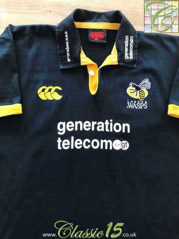 2003/04 London Wasps Home Rugby Shirt (M)
