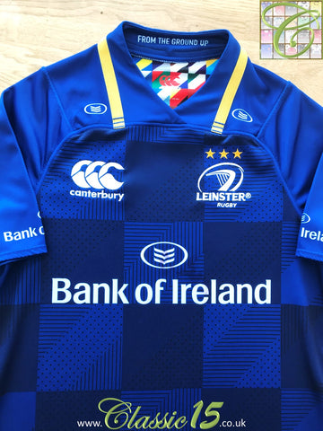 2017/18 Leinster Home Rugby Shirt (S)