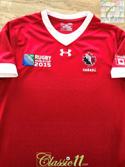 2015 Canada Home World Cup Rugby Shirt (S)