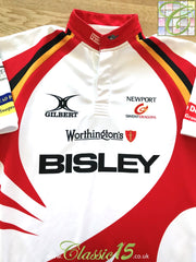 2011/12 Newport Gwent Dragons Away Rugby Shirt (M)