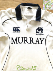 2009/10 Scotland Away Rugby Shirt (S)