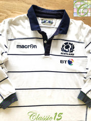 2016/17 Scotland Away Rugby Shirt. (M)