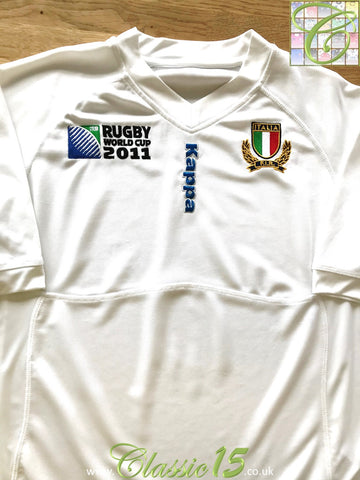2011 Italy Away World Cup Rugby Shirt (XL)