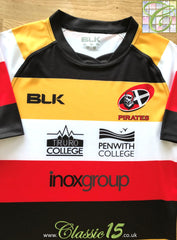 2015/16 Cornish Pirates Rugby Training Shirt (L)