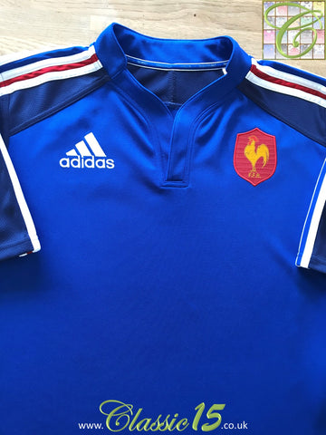 2012/13 France Home Supporters Rugby Shirt (L)