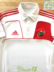 2010/11 Munster Rugby Polo Shirt - White (L)