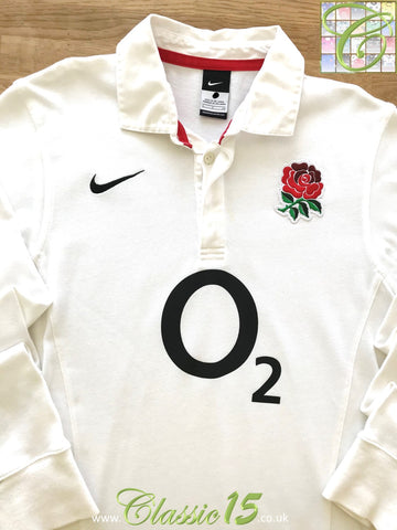 2011/12 England Home Rugby Shirt. (S)